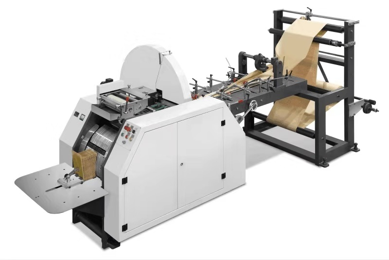 JYS-400 Food V-Shape Bottom Paper Bag Making Machin